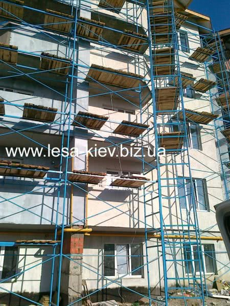 Flexural the scaffolding