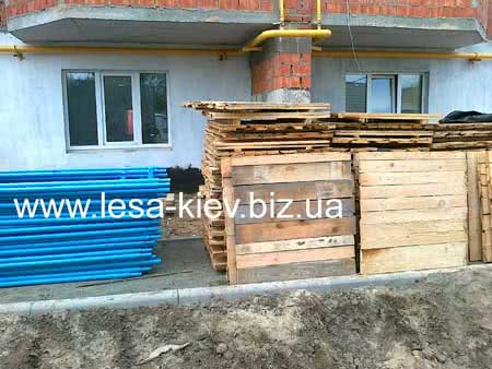 Delivery, renting of scaffolds Kiev