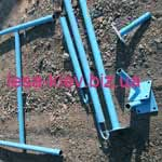 We offer to rent the side fixing bearing heel meter rack, rack height selection.